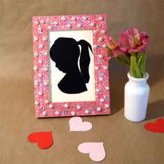 How to Make a Silhouette Art Piece