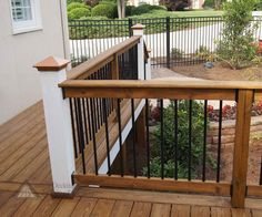 Image of: Deck Railing Styles