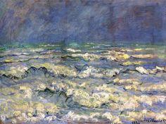 Pleine Mer, gros temps (C Monet - W 624),1881.
