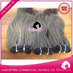 Natural Gray Quality 100% Unprocessed Hair Extensions Gray Chennai Human Hair, View human hair, Unihair Product Details from UNISHIPPING COMMERCIAL AND SERVICE COMPANY LIMITED on Alibaba.com