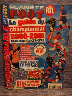 PLANÈTE FOOT. LE GUIDE DU CHAMPIONAT 2000-2001. COMO NUEVA.