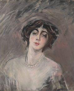 Giovanni Boldini (Italian, 1842-1931) - Donna Franca Florio