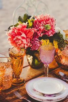 table arrangements.