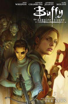 Buffy Season 9 • The Core TPB • cover art by Jo Chen