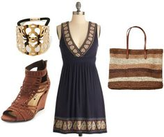 Love the dress....Picnic outfit dress wedge sandals straw http://www.gulfcoastnewstoday.com/the_foley_onlooker/local_news/article_35d2ee02-eea1-11e3-9b01-001a4bcf887a.html