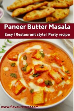 Restaurant style paneer butter masala also called as paneer makhani is a perfect curry to pair with naan, roti or rice for dinner or on special occasions. This is best party recipe to feed the crowd. Vegetarian Recipes Dinner, Lunch Recipes, Easy Dinner Recipes, Appetizer Recipes, Cooking Recipes, Indian Beef Recipes, Paneer Recipes, Curry Recipes, Healthy Curry Recipe