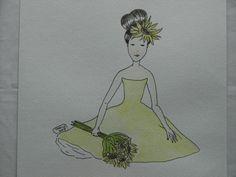 "Michelle Cahill illustrative series ""The Dolls""@ www.chinadahlia-arts.com"