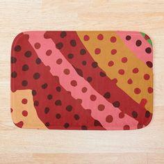 Diagonal Line, Creative Background, Home Decor Accessories, Bath Mat, Pillow Covers, My Arts, Dots, Clock, Art Prints