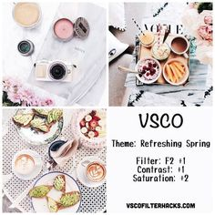 Refreshing Spring Instagram Feed Using VSCO Filter F2 #RetouchingTutorialInstagram