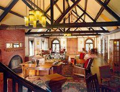 The Roycroft Inn in East Aurora, NY - Arts & Crafts - Craftsman - Roycrofters