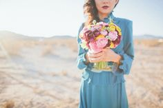image by Abi Q Photography, Flowers by Layers of Lovely, via @Ruffled®
