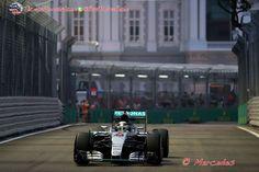 """Rosberg: """"Hice algunos cambios en la configuración entre las sesiones pero me equivoqué"""" #Formula1 #F1 #SingaporeGP"""