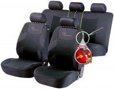 Sitzbezüge Sitzbezug Schonbezüge für Hyundai ix20 Schwarz Modern MG-1 Set
