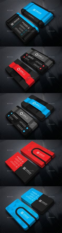 PSD - 3 in 1 Business Card Bundle 12211548