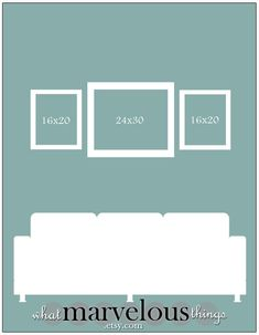 Photo Wall Display Template