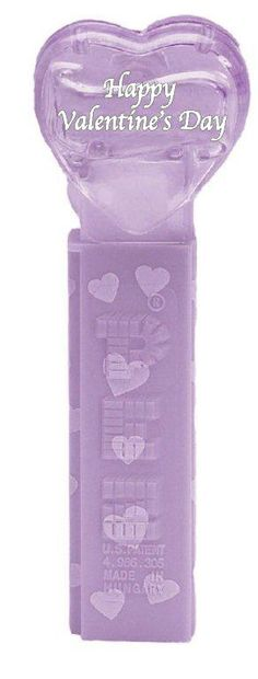Purple crystal heart