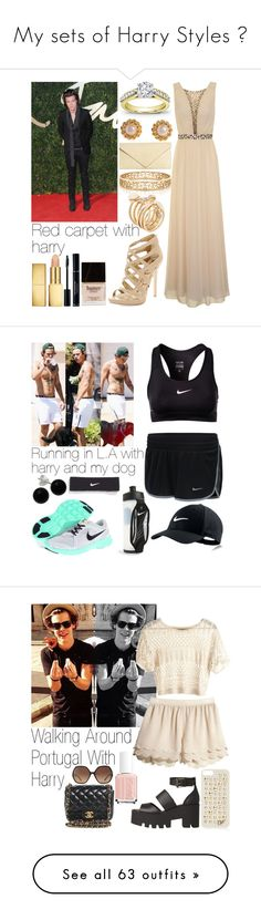"""""""My sets of Harry Styles ☺"""" by triana2525 ❤ liked on Polyvore featuring CHI, Sam Edelman, AERIN, Butter London, Chanel, Tiffany & Co., Brooks Brothers, ALDO, NIKE and Bridge Jewelry"""