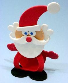 Papai Noel em EVA passo a passo