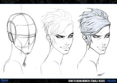 "It's one thing to know how to draw the female head – but it's another to know how to bring it to LIFE!... And that's what the latest lesson inside the upcoming ""How To Draw Women: Female Heads"" Chapter of the ""Character Creator Course"" is all about (yep, decided to change up the course title a little bit there). In this MASSIVE 6 hour beast of a lesson, you'll learn how to animate the facial features of your female characters to express a wide range emotions."