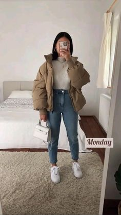 Casual Winter Outfits, Winter Fashion Outfits, Simple Outfits, Classy Outfits, Stylish Outfits, Fall Outfits, Swaggy Outfits, Outfit Look, Looks Style