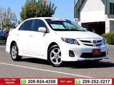 2013 Toyota Corolla S 4D Sedan 53k miles Call for Price 53475 miles 209-924-4358 Transmission: Automatic  #Toyota #Corolla #used #cars #TracyToyota #Tracy #CA #tapcars