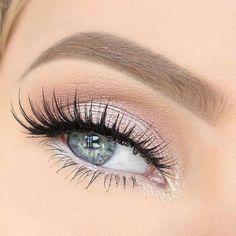 nice Дневной макияж для голубых глаз (50 фото) — Тенденции, пошаговые инструкции