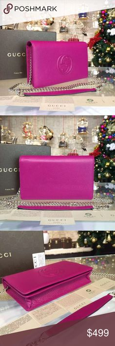 Gucci flap bag Brand new in box with dust bag and authenticity card. PRICE FIRM. Gucci Bags Crossbody Bags