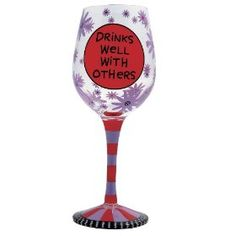 wine glass saying