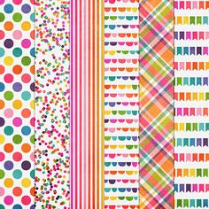 Free Party Animals Paper Pack from Harper Finch
