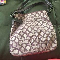 Coach purse Classic coach purse, used a couple times, like new Coach Bags