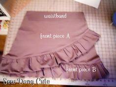 cute ruffle skirt