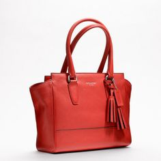Coach :: Legacy Leather Candace Carryall