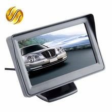 "US $12.73 Car Monitor 4.3"" Screen For Rear View Reverse Camera TFT LCD Display HD Digital Color 4.3 Inch PAL/NTSC. Aliexpress product"