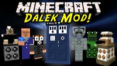 New post (Dalek (Doctor Who) Mod has been published on Dalek (Doctor Who) Mod - Minecraft Resource Packs Minecraft Games, Minecraft Mods, Minecraft Mod Download, Dalek, Tardis, Doctor Who, Locker Storage, Packing, Cool Stuff
