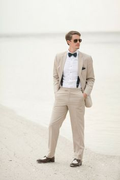 Beach Wedding Inspiration Groom Attire Photo By Jamie Lee Photography