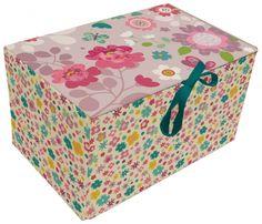 Storage box- Flower - hardtofind.