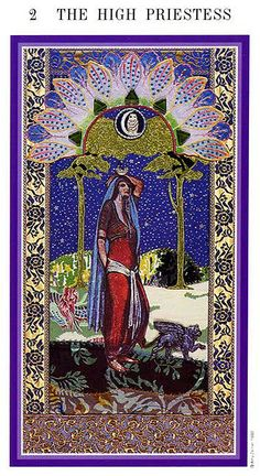 The High Priestess - Enchanted Tarot (Zerner-Farber Tarot)