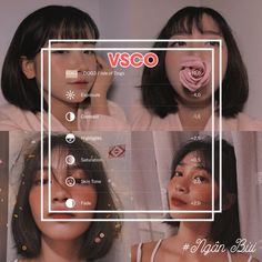 Vsco Pictures, Editing Pictures, Photography Filters, Photography Editing, Vsco Hacks, Feeds Instagram, Best Vsco Filters, Aesthetic Filter, Vsco Themes