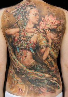Katerina Mikky Volkova tattoo