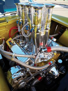 1965 Chevrolet Corvette Engine Maintenance of old vehicles: the material for new cogs/casters/gears/pads could be cast polyamide which I (Cast polyamide) can produce