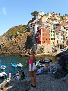 Riomaggiore,Cinque Terre Beautiful Italy village