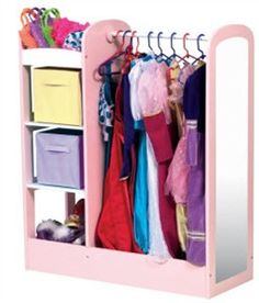 See-Store Dress Up Center in Pastel