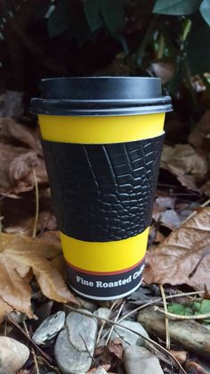Check out this item in my Etsy shop https://www.etsy.com/listing/491092597/vinyl-croco-coffee-cozy-coffee-sleeve