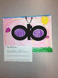 have the kids use 100 numerals to make something, get creative for 100th day of school
