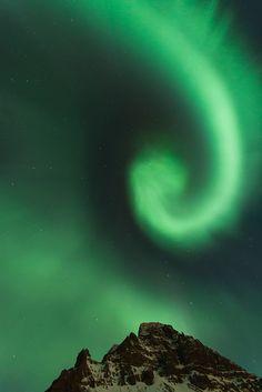 Aurora Borealis - Bolungarvik, Nordur-Isafjardarsysia, Iceland