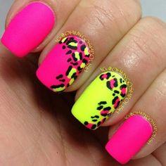 15 Gepard oder Leopard Nageldesigns – aSelbermachen 15 cheetah or leopard nail designs Cheetah Nail Designs, Leopard Print Nails, Nail Art Designs, Nails Design, Leopard Prints, Bright Nail Designs, Pink Cheetah Nails, Creative Nail Designs, Leopard Spots