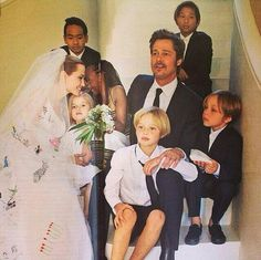 Jolie-Pitt wedding gorgeous