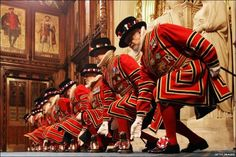 Yeoman of the Guards at the House of Lords, London