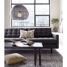 Petrie Sofa in Sofas | Crate and Barrel