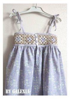 Croche pro Bebe: Vestidinhos a  